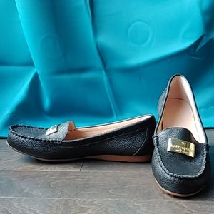 Kate Spade Moccasin Leather Loafers